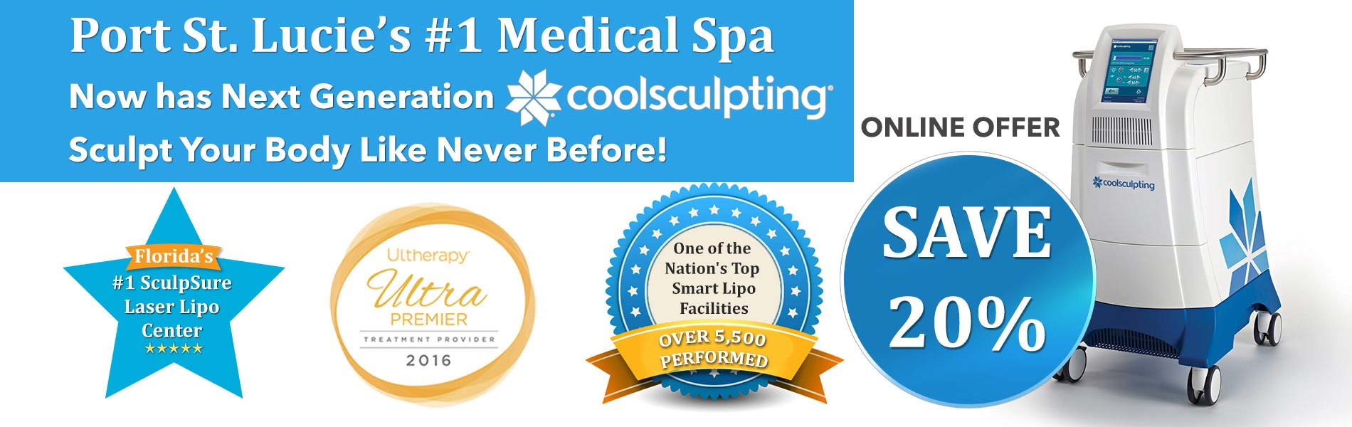 New Radiance St. Lucie - CoolSculpting St. Lucie