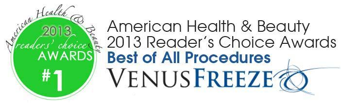Venus Freeze Reader\'s Choice Award