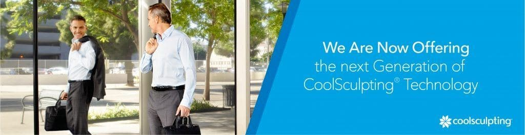 Male CoolSculpting Banner